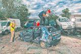 Destrukce auta