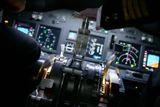 zkusebni let na simulatoru boeing