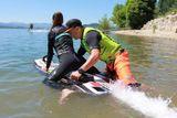 jizda po vode na prkne