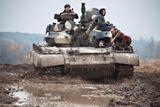 taxi jizda v tanku t-55