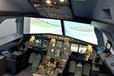 simulator airbusu praha