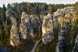 horolezeni v piskovcovem skalnim meste
