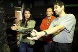 prace s laserovou zbrani