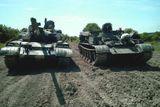 rizeni tanku t-55