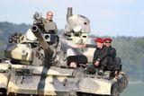 ridicem bojoveho tanku t-55