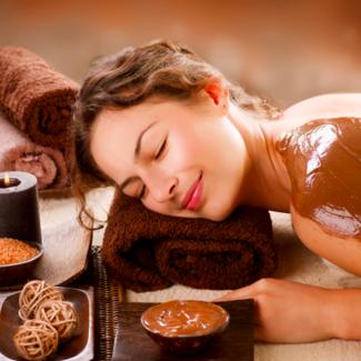 - Náš tip: Čokoládová masáž