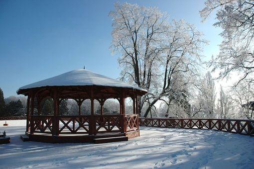 Romantická zima na Zbirohu