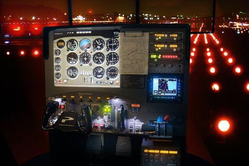 Simulátor Cessny 182RG
