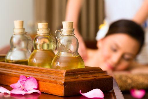 Thajská olejová masáž
