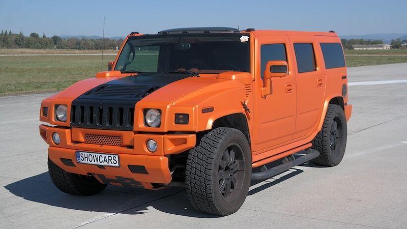 Jízda v Hummer H2 GEIGER V8 6.2