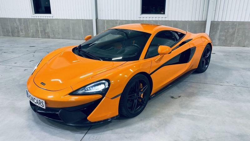 Jízda v McLarenu 570S