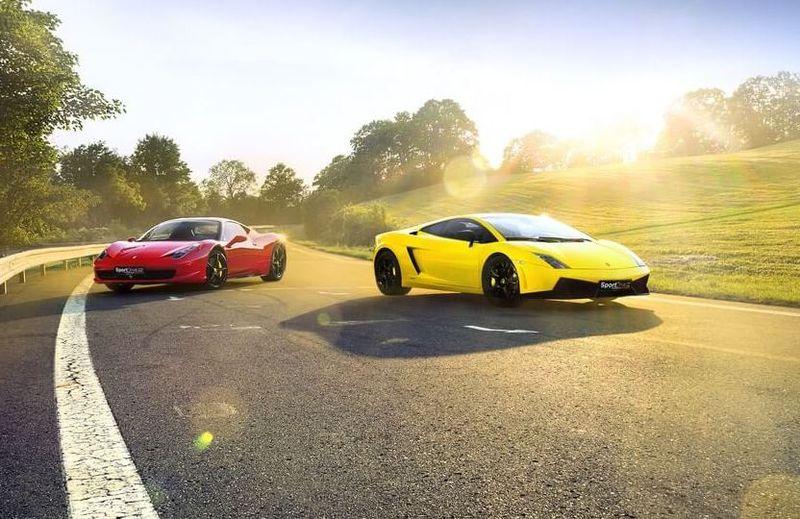 Jízda ve Ferrari 458 Italia a Lamborghini Gallardo