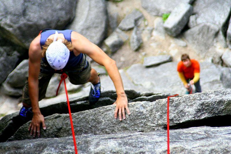 Kurz lezení na pískovci
