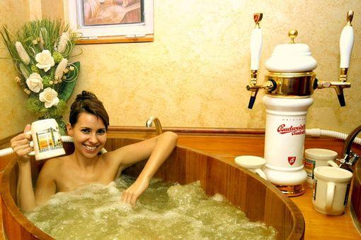 Pivní koupel