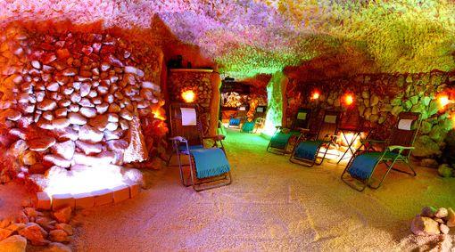 Privátní romantický pobyt v solné jeskyni
