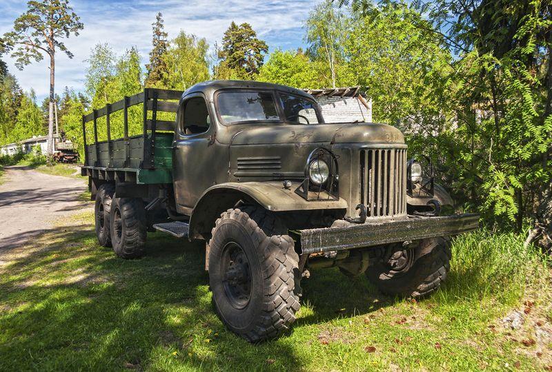 Řidičem vojenského náklaďáku