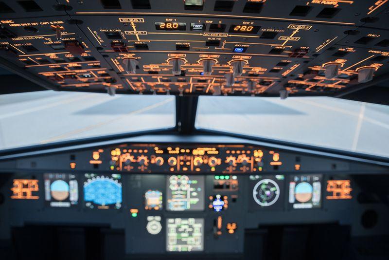Simulátor Cessny 182 a Boeingu 737