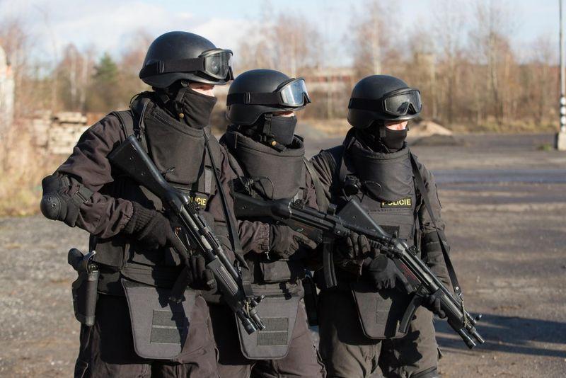 SWAT trénink