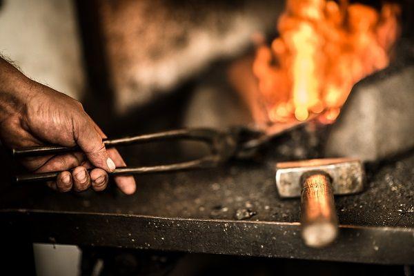 Uměleckým kovářem